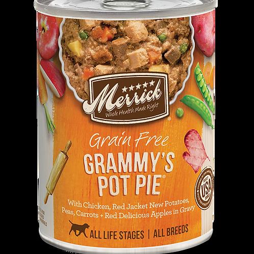 Merrick Grain Free Grammy's Pot Pie in Gravy