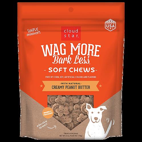 Wag More Bark Less: Creamy Peanut Butter Soft Chews