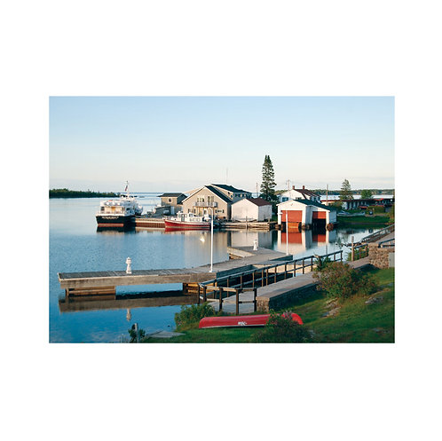 Peaceful Waterfront Note Card