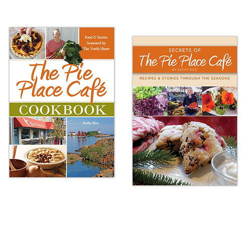Pie Place Cafe & Secrets of the Pie Place Cafe Cookbook 2-pack