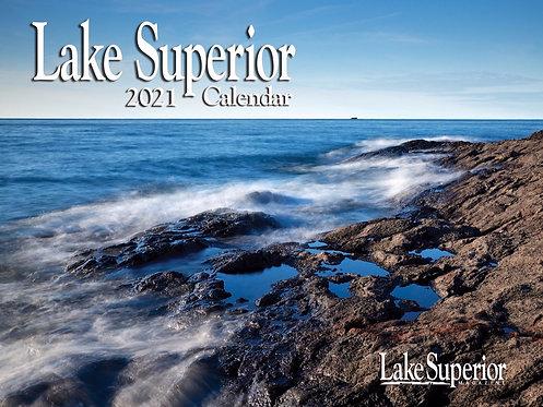 2021 Lake Superior Wall Calendar