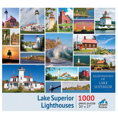 Lake Superior Lighthouses Jigsaw Puzzle