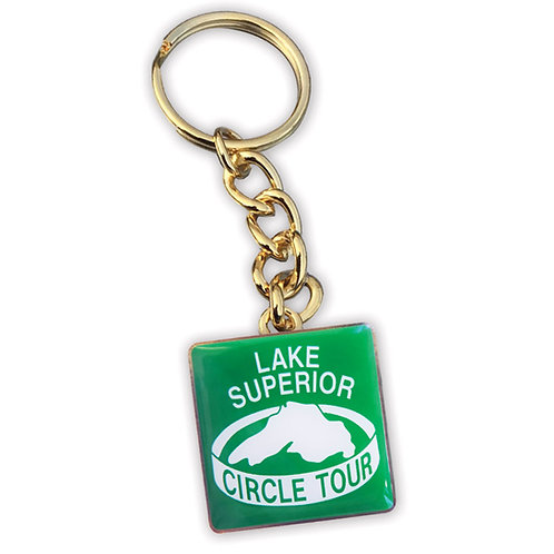 Lake Superior Circle Tour Keychain