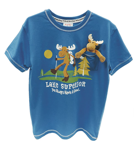 Pocket Pal Moose Kids T-Shirt