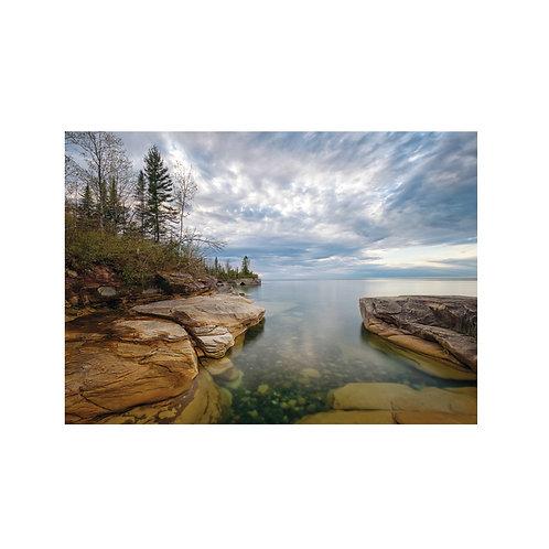 Lake Superior Meditation Note Card