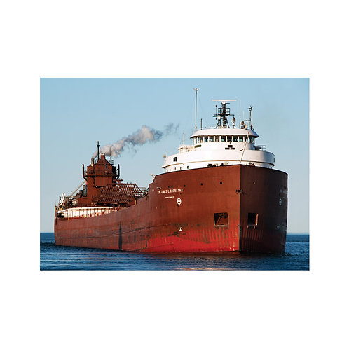 Hon. James L. Oberstar on Lake Superior Note Card