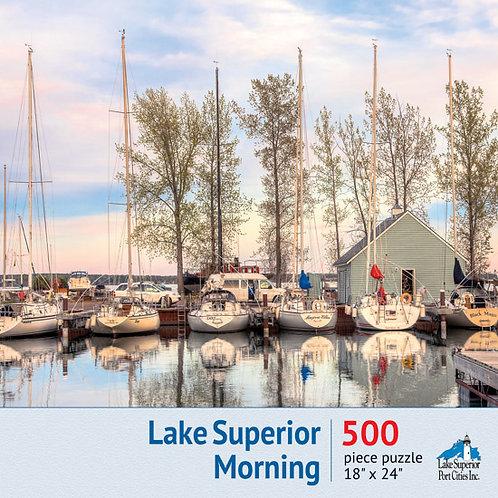 Lake Superior Morning Jigsaw Puzzle