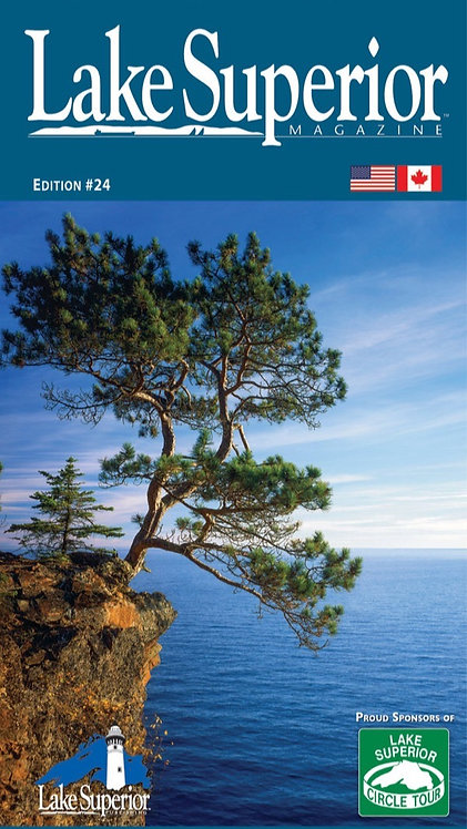 Free Lake Superior Travel Map