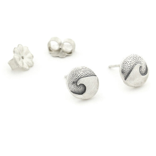 Mini Cresting Wave Post Earrings