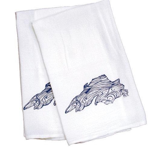 Lake Superior Flour Sack Kitchen Towels