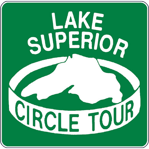 Lake Superior Circle Tour Sticker