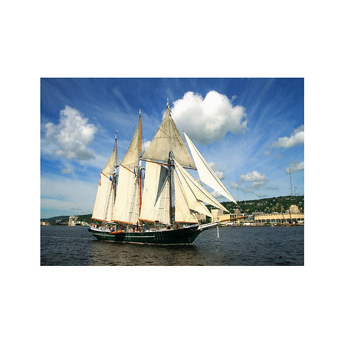 Schooner Denis Sullivan Note Card
