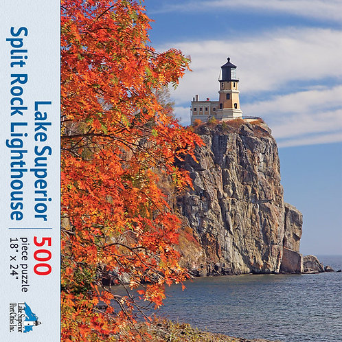 Split Rock Lighthouse Jigsaw Puzzle