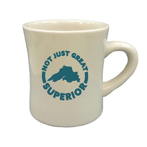 Not just Great-Superior Diner Mug