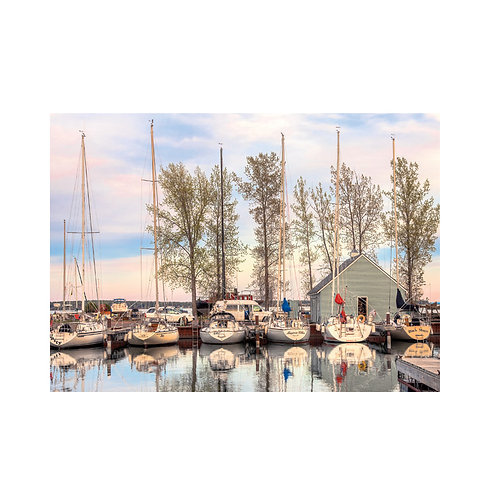 Lake Superior Morning Note Card