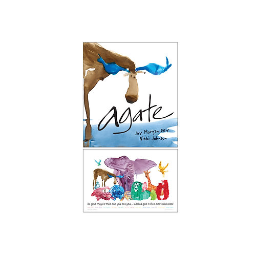 Agate: What Good Is a Moose? – Book and Poster Combo
