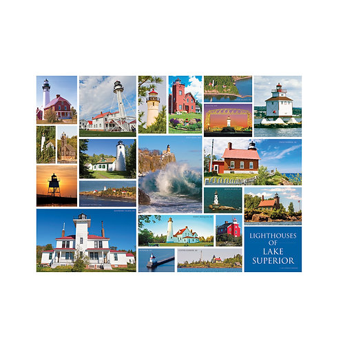 NEW! Poster – Lighthouses of Lake Superior