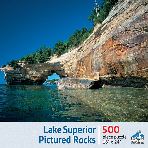 Lake Superior Pictured Rocks Jigsaw Puzzle