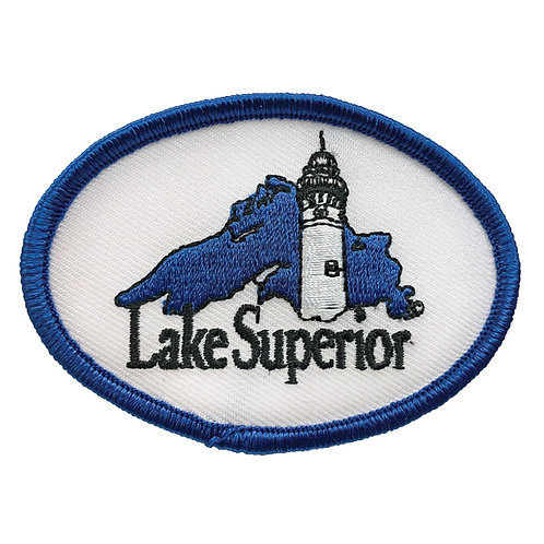 Lake Superior Lake-and-Lighthouse Patch
