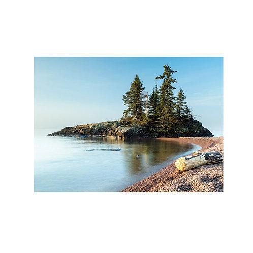 Beach Solitude Note Card