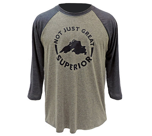 Lake Superior Baseball T-shirt