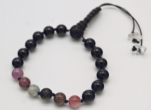 Tourmaline Mala Bracelet