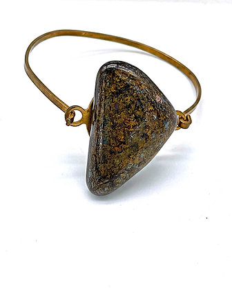 Bronzite Bangle Bracelet