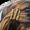 Thumbnail: 3 Pack Hair Combs: Labradorite
