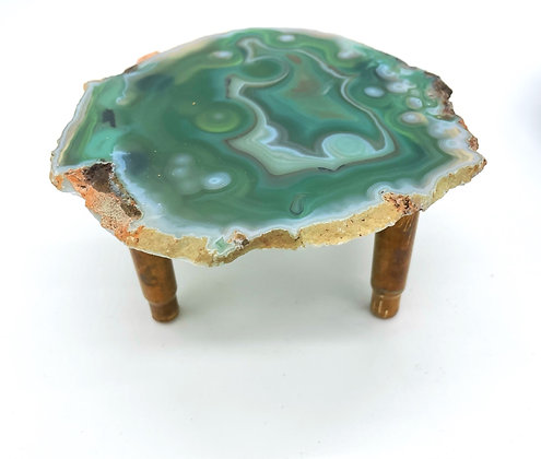 Sea Green Agate Tray