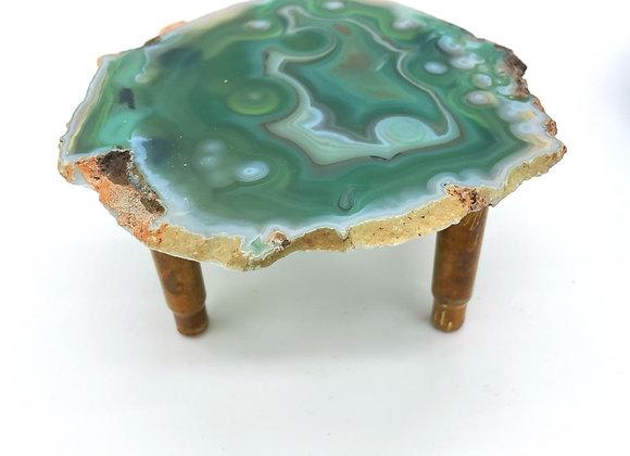 Sea Green Agate Tray