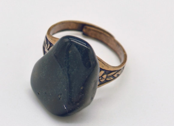 Bloodstone Gemstone Ring