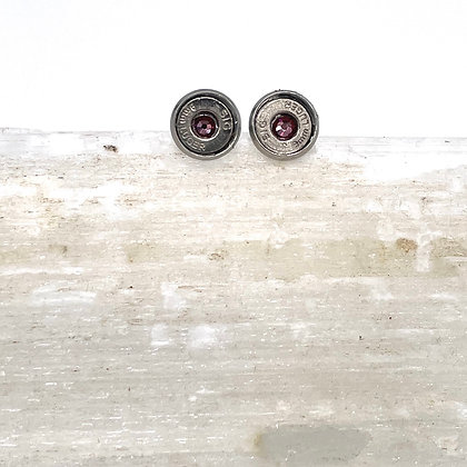 Sig 380 Upcycled Stud Earrings