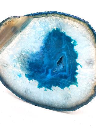 Ocean Blue Agate Tray