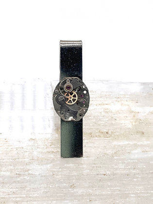 Watch Gears Tie Bar