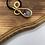 Thumbnail: Aquamarine & Amethyst Brass Pendant