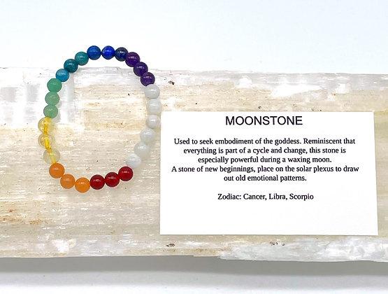 Moonstone Chakra Stackable