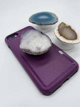 Agate Stone Phone Grip