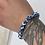 Thumbnail: Tibetan Blue Dzi Agate Stackable