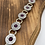 Thumbnail: Recycled Casings Amethyst Bracelet