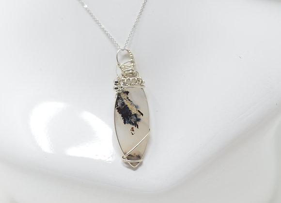 Dendrite Agate Necklace