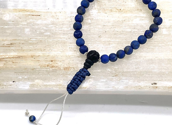 Lapis Lazuli Mala Bracelet