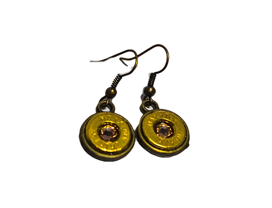 Bullet Casing Drop Earrings