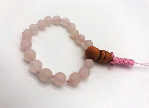 Mala Bracelet: Rose Quartz