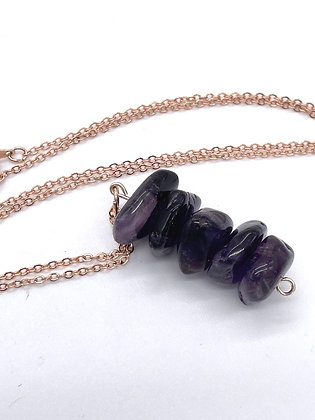 Amethyst Stacker Necklace