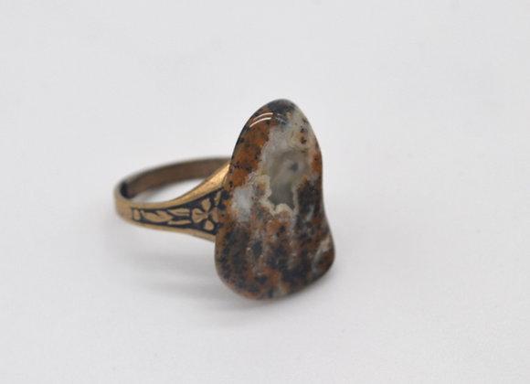 Cheetah Jasper Ring
