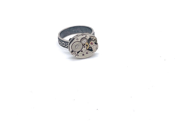 Timeless: Vintage Upcycled Ring