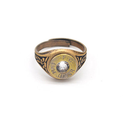 9mm Adjustable Brass Ring