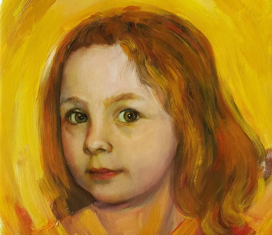 Portrait enfant 60cm x 80cm