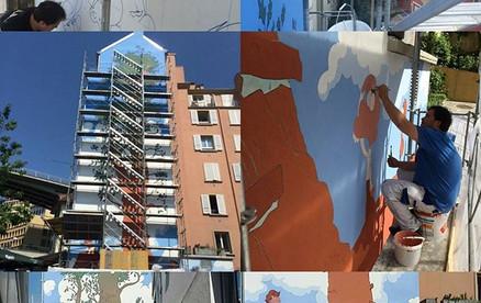 Fresque Zep Lausanne