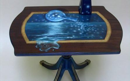 restauration et peinture sur mobilier